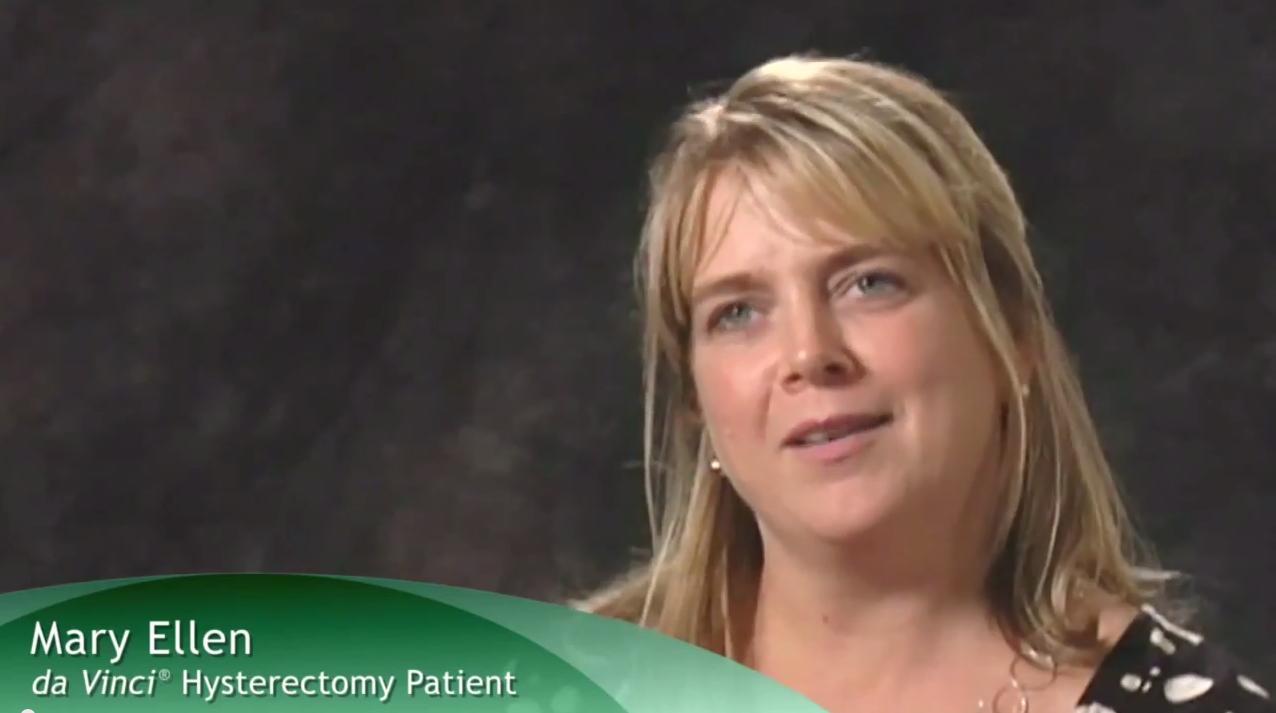 Da Vinci Robotic Surgery Patient Testimonial