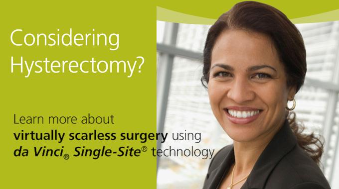 Da Vinci Hysterectomy