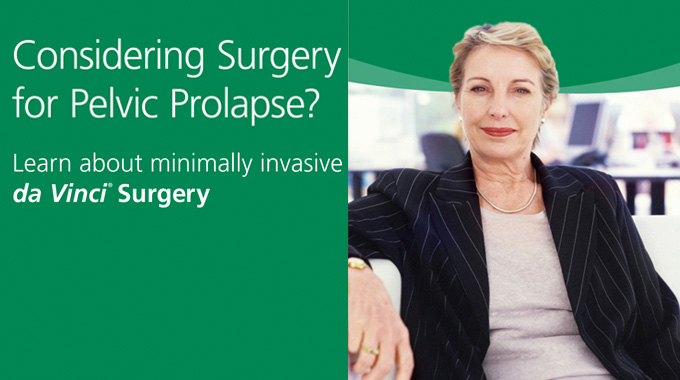 Pelvic Prolapse Surgery